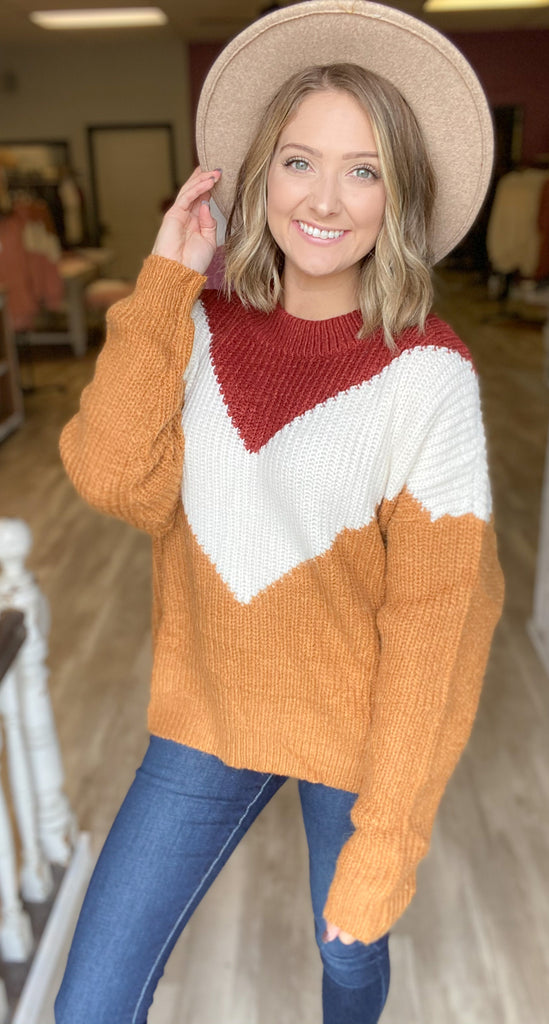 Moving Through Autumn Sweater {MULTIPLE COLORS}