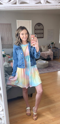 Watercolor Wishes Dress