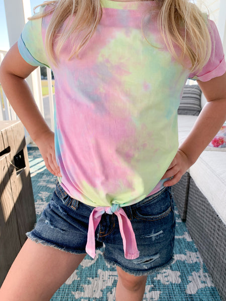 Tween Colors Of The Rainbow Top