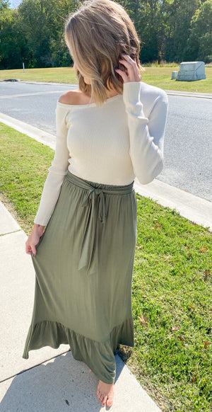 Moves Like This Maxi Skirt