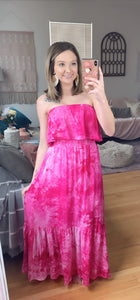 Lover's Game Tie Dye Dress