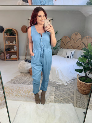 Cure The Blues Jumpsuit