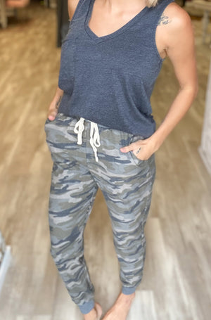 Casual In Camo Jogger
