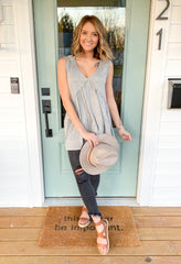 The Simple Look Tank Top