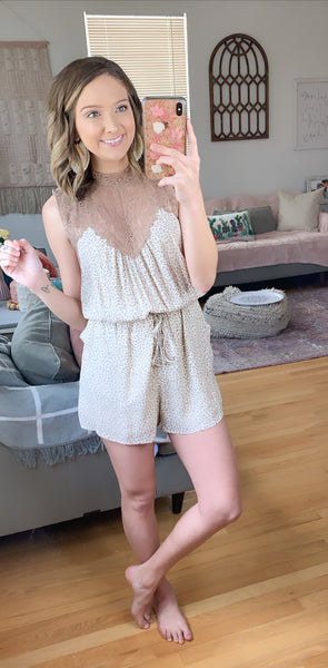 Spotted On The Go Romper