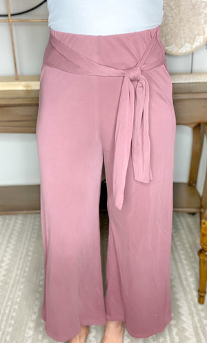 Lifted Spirits Wide Leg Pant