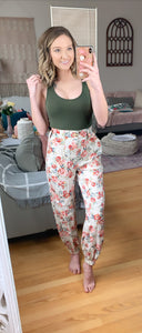 Dream Bigger Floral Pant