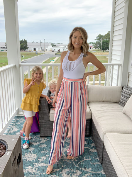 Totally Trendy Striped Pants