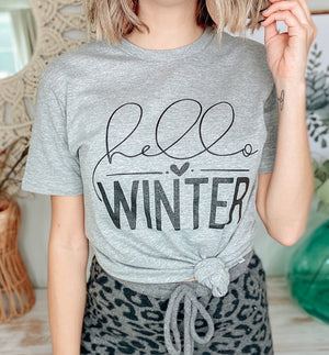 Hello Winter Graphic Tee