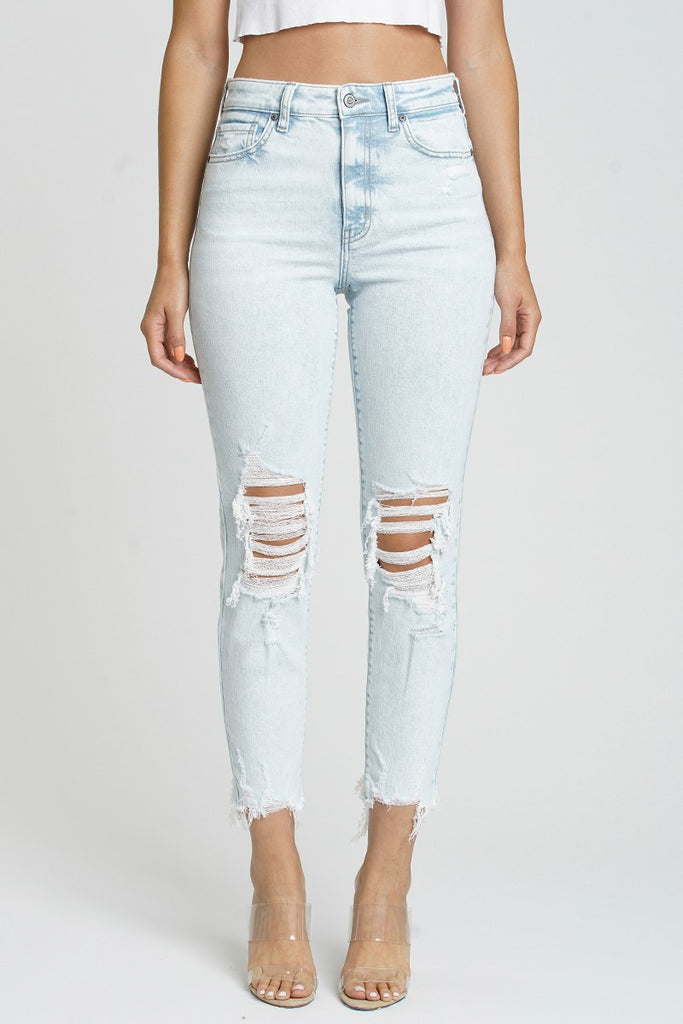 Tobi Super High Rise Mom Jean