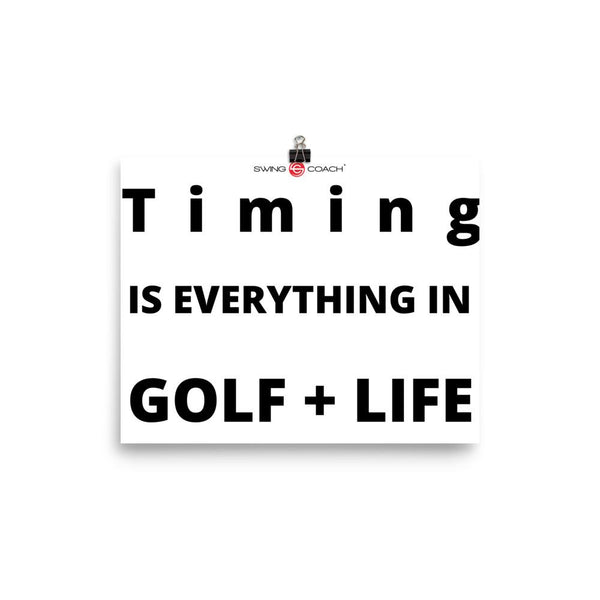 GOLF + LIFE POSTER