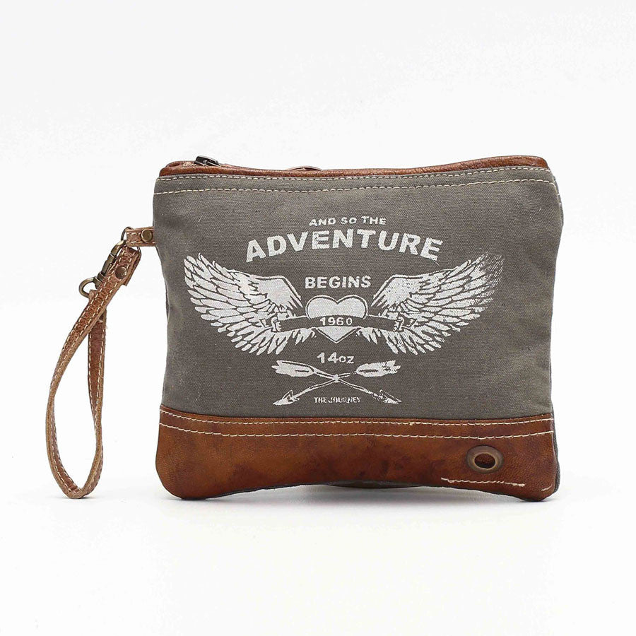 ADVENTURE BEGINS SMALL BAG