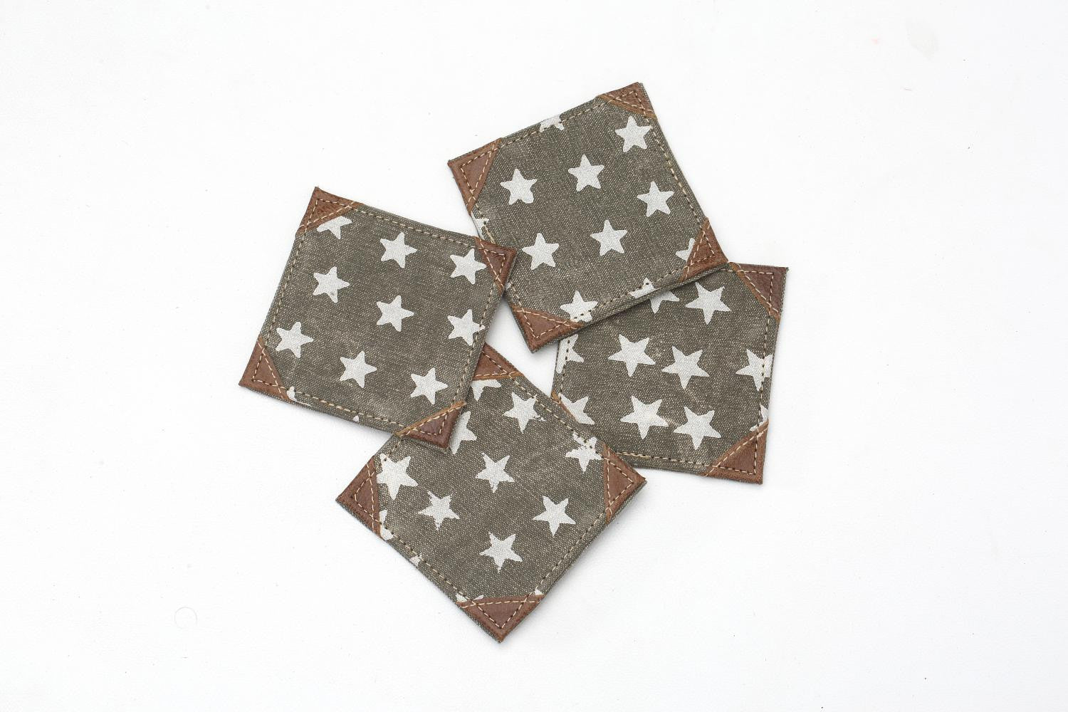 """FREEDOM OF STAR"" COASTER S/4 PCS"