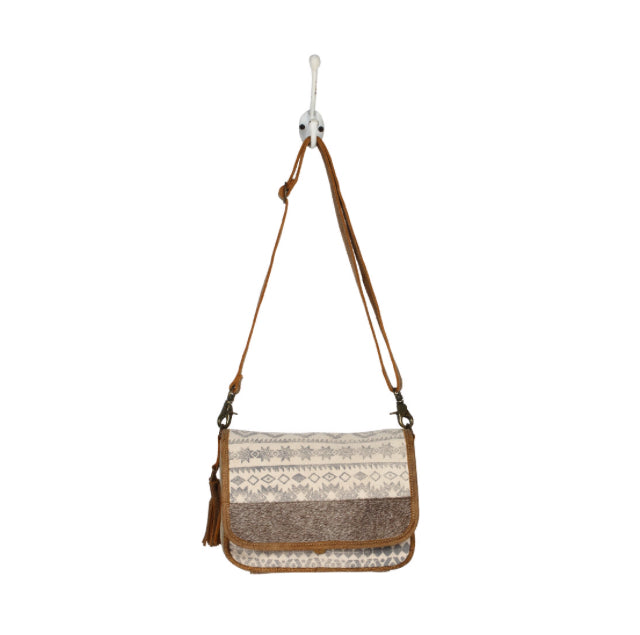 Flap Top Crossbody Bag
