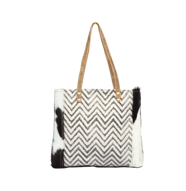 Chevron CANVAS TOTE BAG