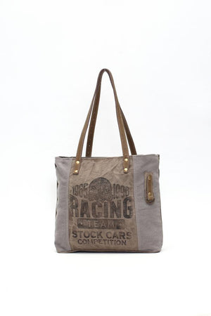 RACING TEAM CANVAS TOTE BAG