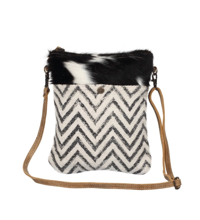 Chevron Cross Body Bag