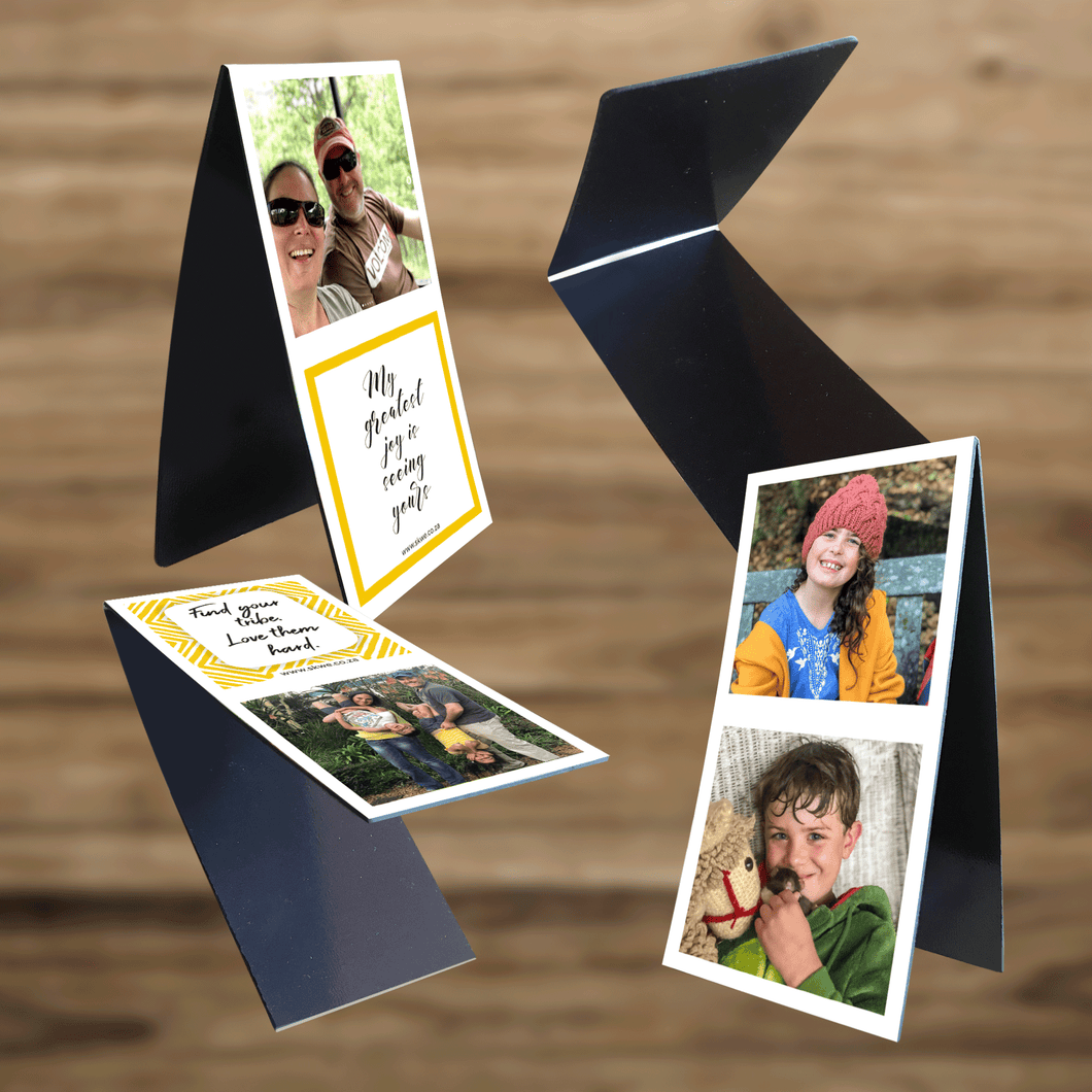 Personalised Magnetic Bookmark (4 Image)