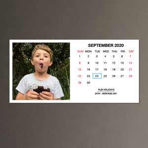 2020 Magnetic Calendar - Layout C