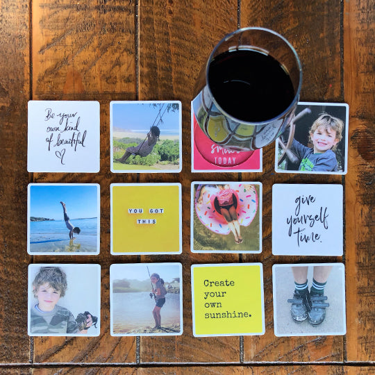 Set of 15 Personalised Coasters