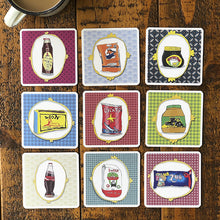 Set of 9 South African Portrait Coasters