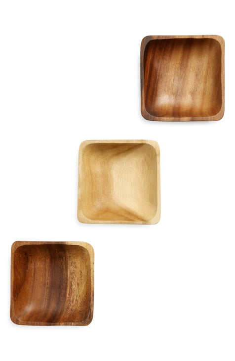 Acacia Wood Dishes