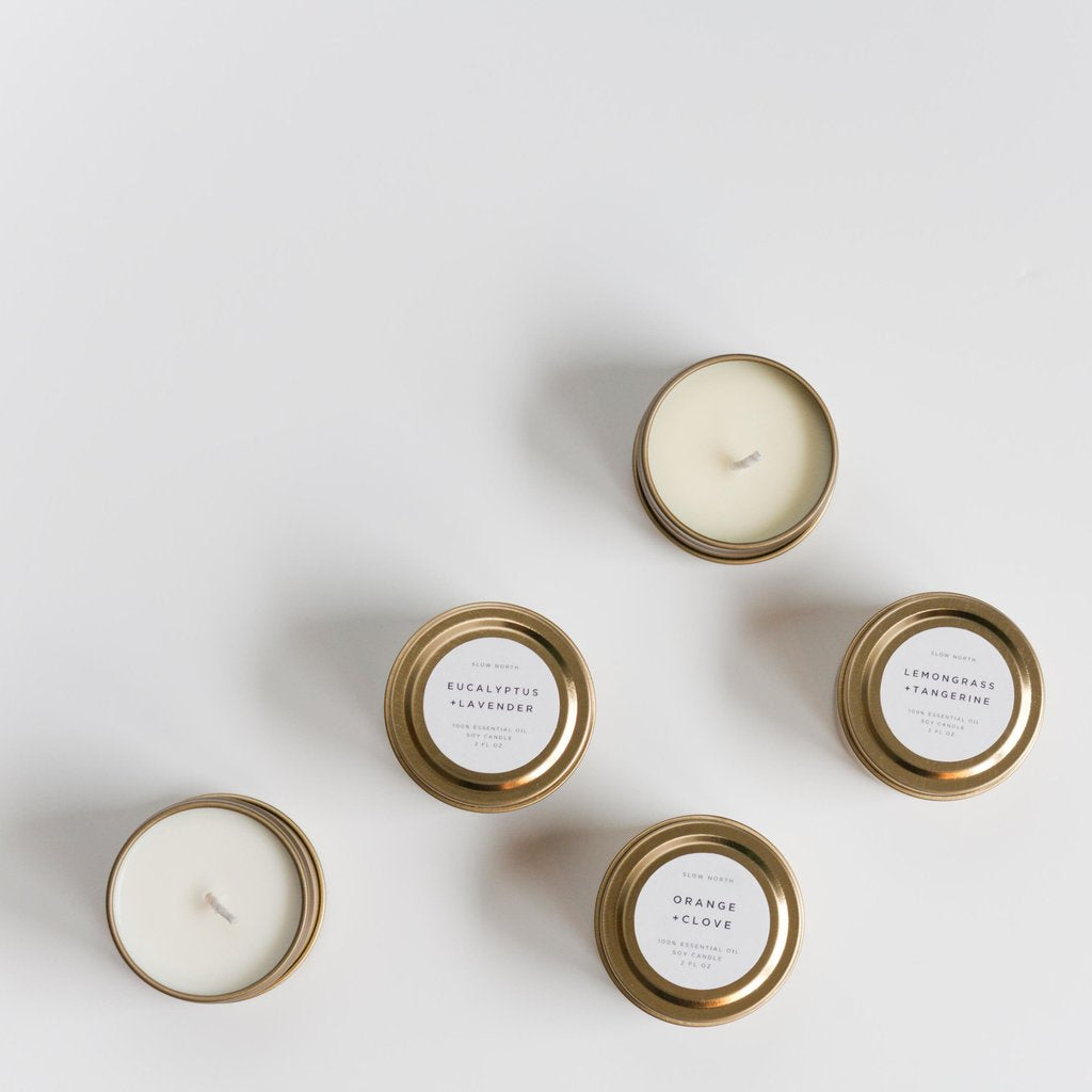 Slow North Mini Travel Candles
