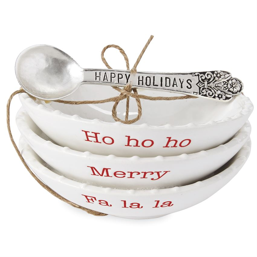 Holiday Mini Dipping Dish Set