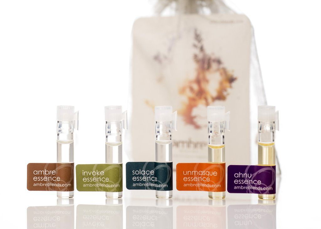 Sample Pack of All Five Ambre Blends Essences