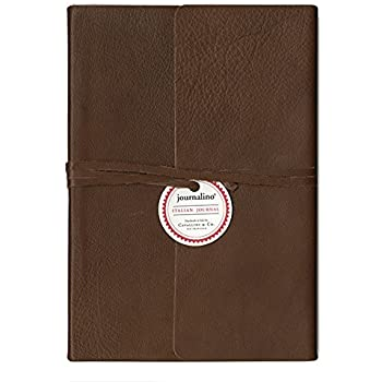 Journal - Slim Brown Leather