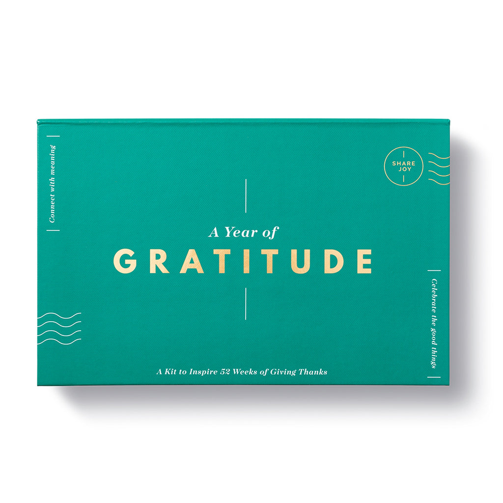 A Year of Gratitude - Note Card Kit