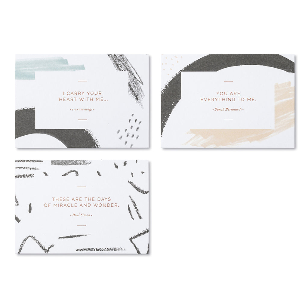 Beautiful Thoughts Note Card Set