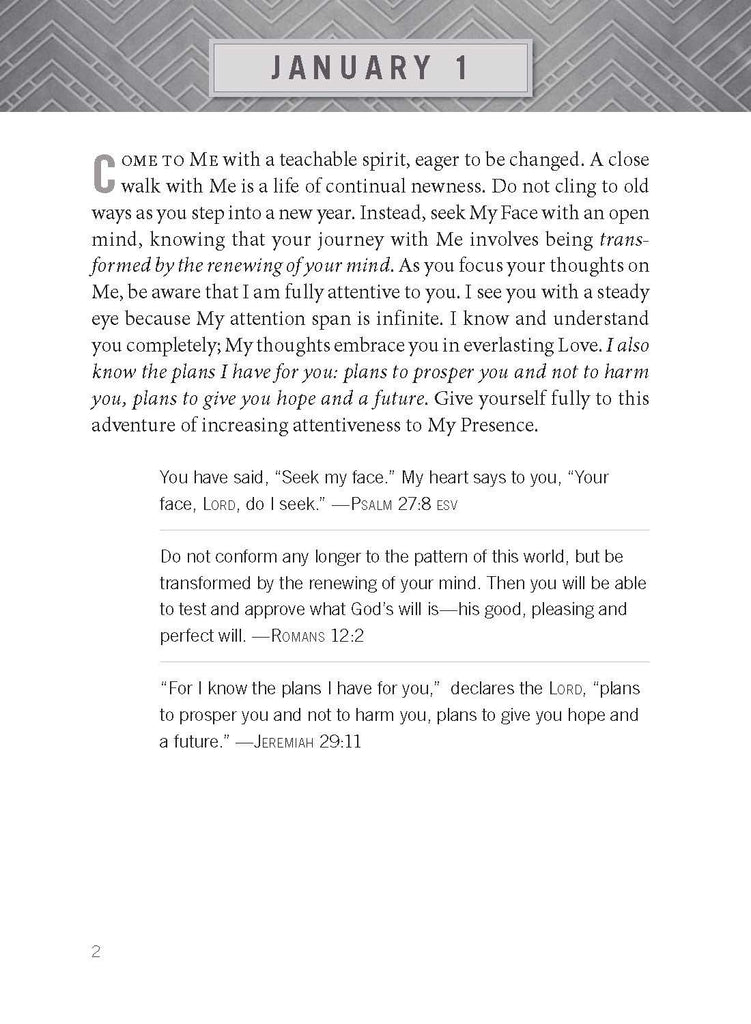 Jesus Calling - Men's Daily Devotional