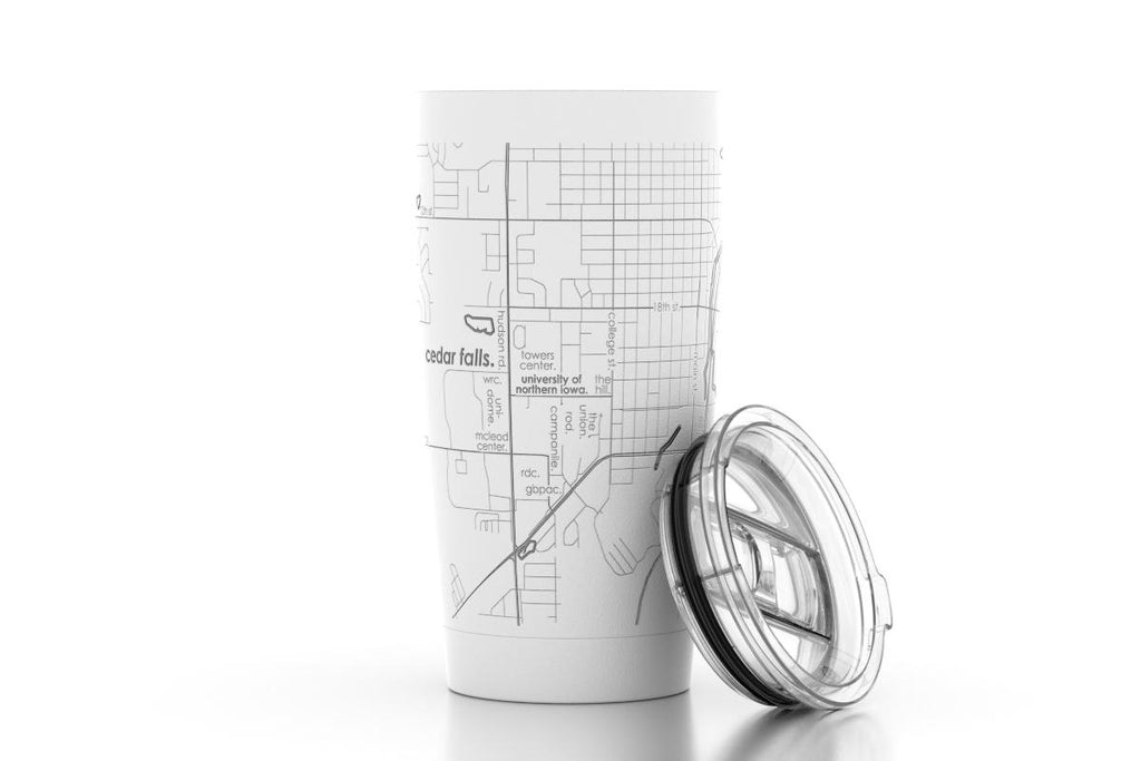 College Town Maps 20oz Insulated Tumbler