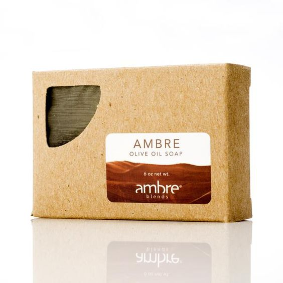 Pure Olive Oil Soap by Ambre Blends
