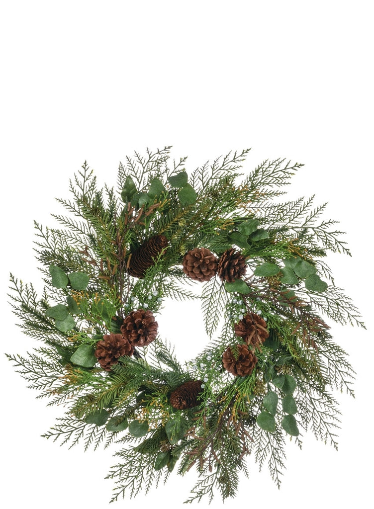Cedar Juniper Eucalyptus Wreath
