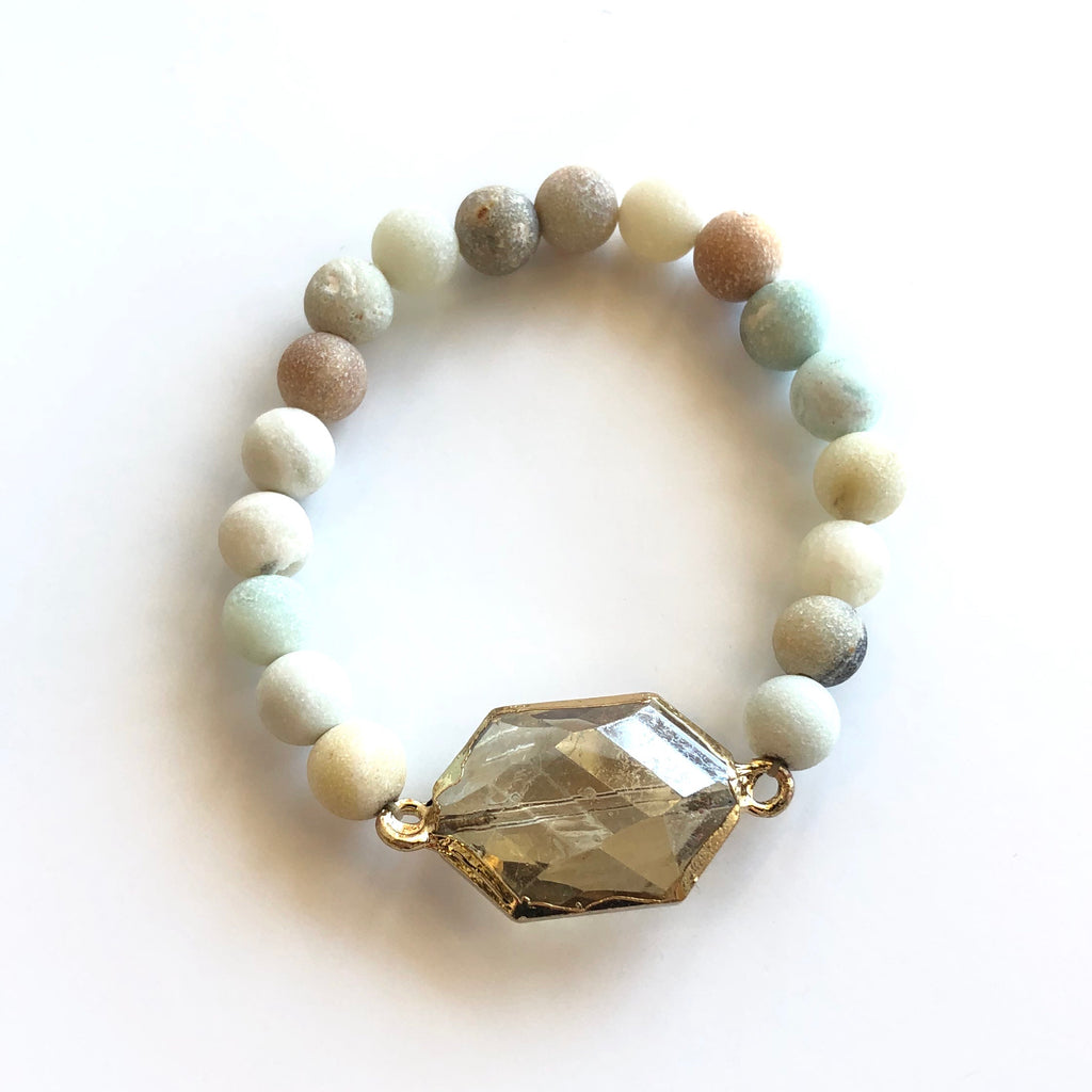 Logan Stone and Crystal Bracelet - Assorted Styles