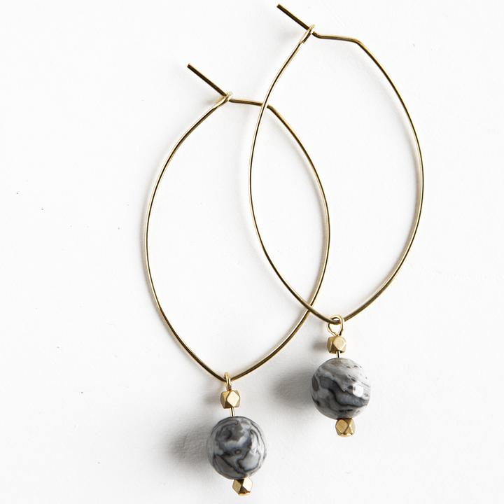Lenny Gemstone Earrings - Assorted Styles