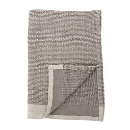 Cotton Waffle Weave Kitchen Towels - Grey - Set of 2