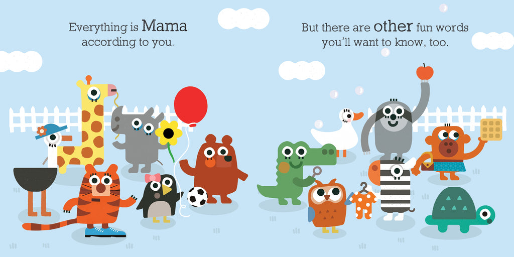 Everything is Mama Board Book