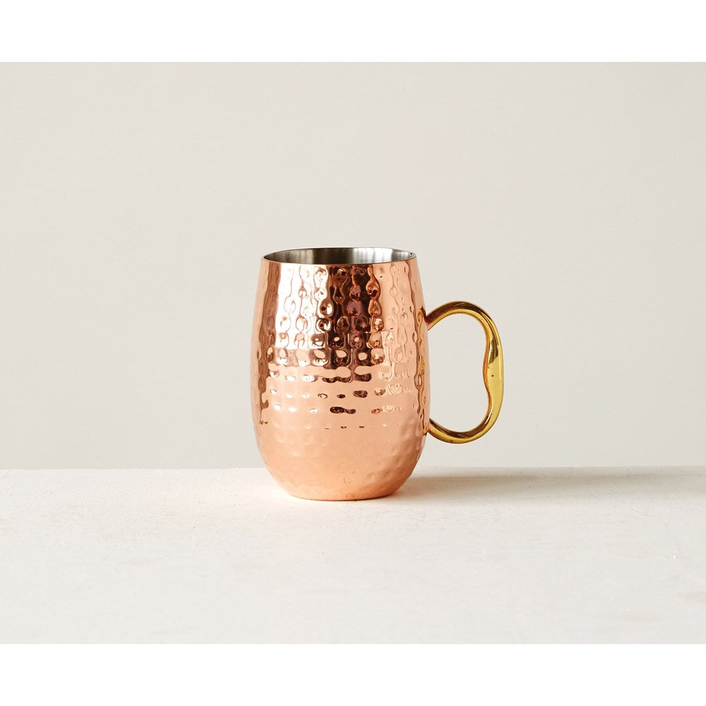 Moscow Mule Mug with Copper Finish