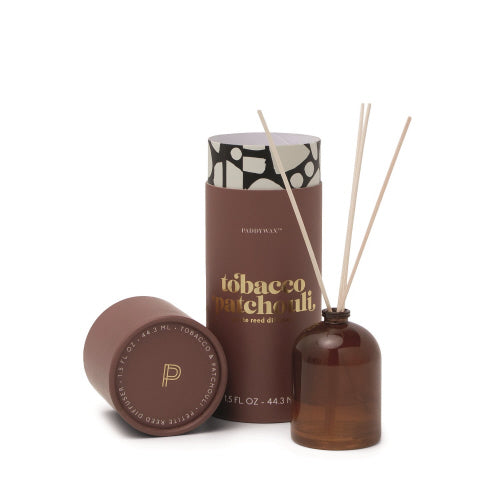 Petite Reed Diffuser - Tobacco Patchouli