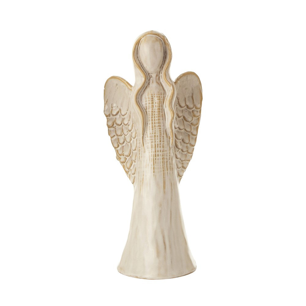 Stoneware Angel - 2 Sizes