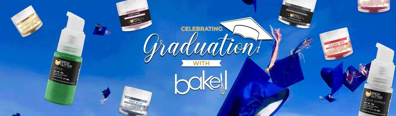 Graduation Decorating Supplies - Bakell.com | Dusts, Molds & Cutters!