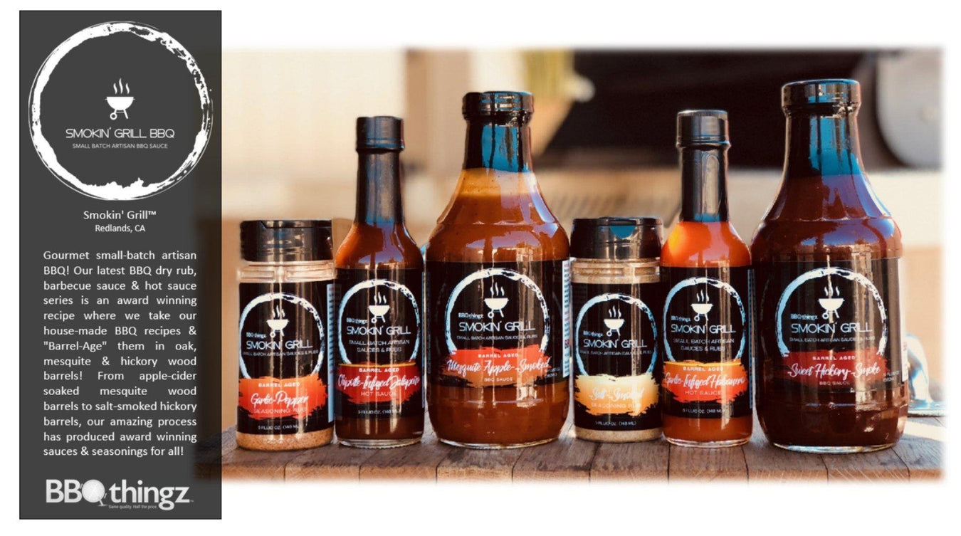 Smokin' Grill Gourmet BBQ Sauces, Hot Sauces and Dry Rubs | Bakell.com