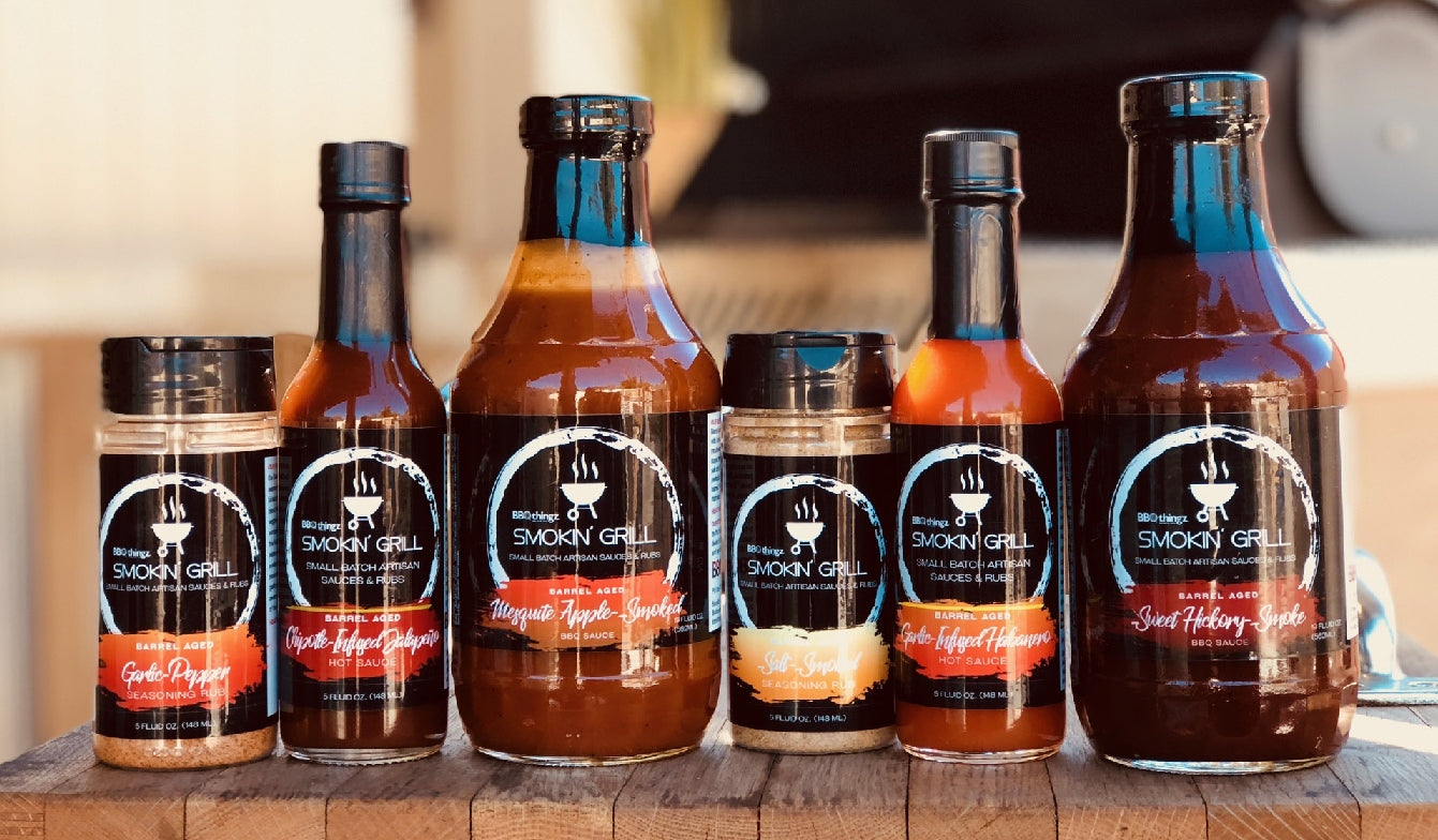 Smokin' Grill Sauces & Rubs | Award Winning BBQ Sauces, Dry Rub Seasonings & Hot Sauces from Bakell.com