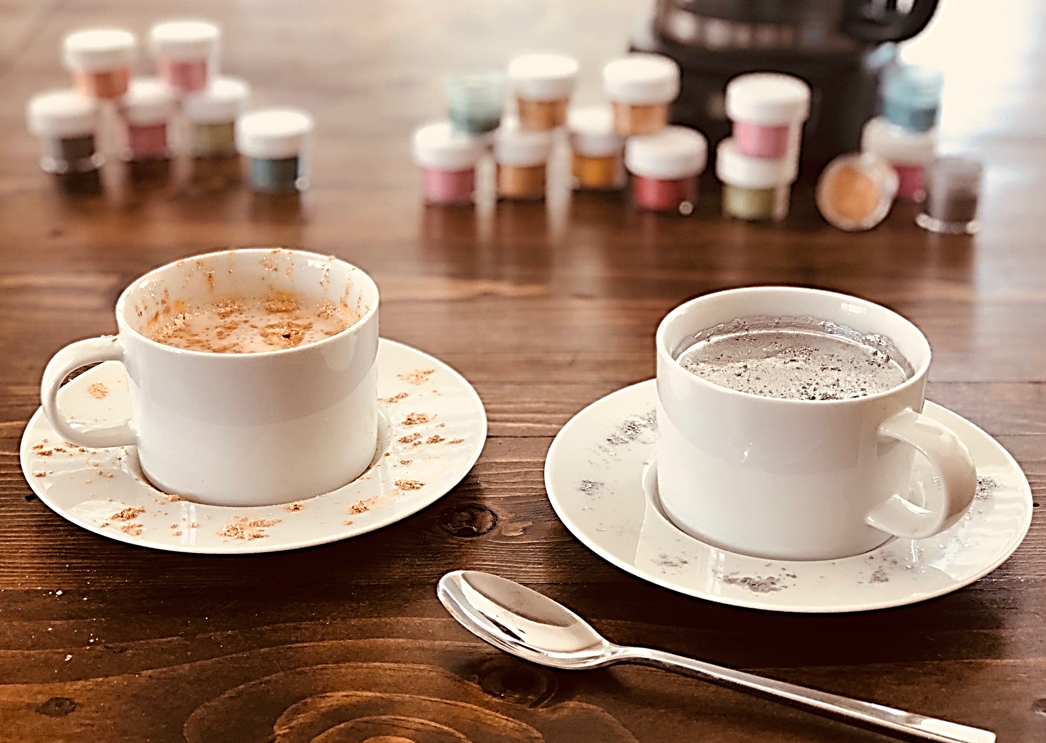 NEW! Edible Coffee Dust™ & Latte Glitter™ from Bakell.com