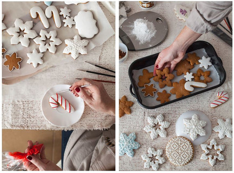 Holiday Baking Made Easy - Fondant Snowflakes | Bakell Recipes & Tips