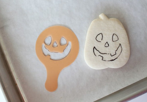 Bakell.com | Pumpkin sketch for Pumpkin Sugar Cookie