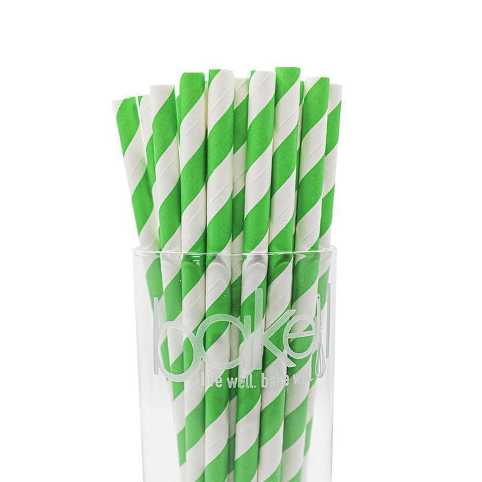 12 PC Cake Pop Party Straws | Bakell.com